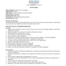 patient care technician job duties patient care coordinator resume sample samplebusinessresume specific duties and responsibilities patient care assistant duties