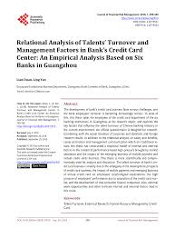 $20 discounted delivery applies to lowe's standard truck delivery only and is available to any jobsite or business within each store's standard service area. Pdf Relational Analysis Of Talents Turnover And Management Factors In Bank S Credit Card Center An Empirical Analysis Based On Six Banks In Guangzhou