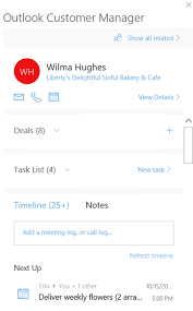 office to do list manager log activities in outlook customer manager office support