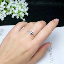 2019 <b>Shilovem 925 Silver Sterling</b> Real Natural Sapphire Rings ...