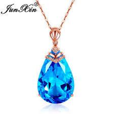 Купите <b>aqua</b> crystal necklace онлайн в приложении AliExpress ...