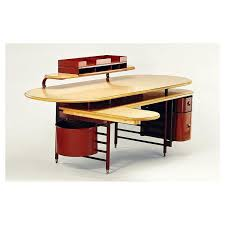 Desk For The Johnson Wax Company Headquarters 1937. Via  Vintage, Design