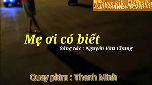 karaoke nhạc thiếu nhi : Mẹ ơi có biết / Karaoke Thanh Minh - YouTube