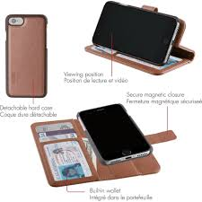 skech polo book wallet cover detachable case stand for apple iphone 7 plus 6 plus and 6s plus walmart