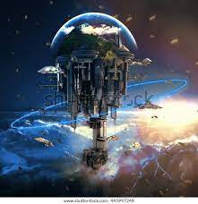 Descubra Ciudad de ciencia ficción con rascacielos imágenes de stock en HD  y millones de otras fotos, ilustraciones y vectores en stock libres de  regalías en la colección de Shutterstock. Se agregan miles de imágenes  nuevas de alta calidad todos los días.