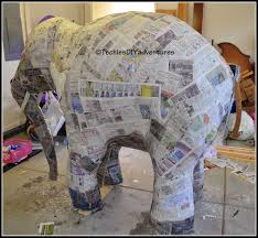 tutorial on how to make paper mache elephant almost life size  tutorial on how to make paper mache elephant almost life size techie s diy adventures