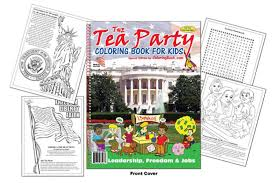 Small Picture Stephen Colbert tips his hat to Tea Party coloring book for kids
