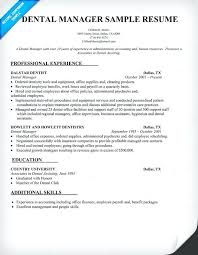 dental office manager resume templates sales experience sample for  correctional officer job curriculum vitae