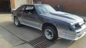 1984 Ford Mustang GT Hatchback ROLLER W/ FORD MOTORSPORT WIDE BODY KIT