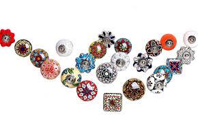 Assorted Ceramic Cabinet Door Wardrobe Knobs Kitchen Cabinet Knobs