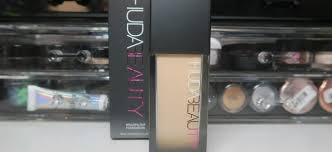 New Huda Beauty Faux Filter Foundation First Impressions