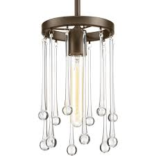 Cates Lighting Elements Of Design Sway Collection One Light Mini Pendant P500005 020 Cates