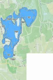 Bantam Lake Fishing Map Us_ct_110 Nautical Charts App