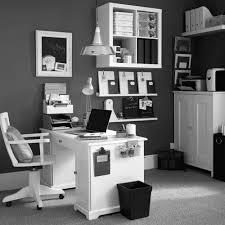 latest office furniture black desk black and white office design