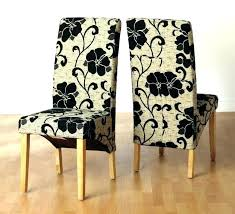 chair covers for leather dining room chairs post white high back seat cover fabric astounding