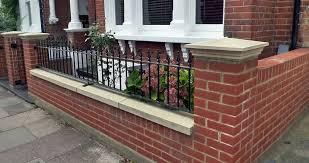 Front Garden Brick Wall Designs Ideas