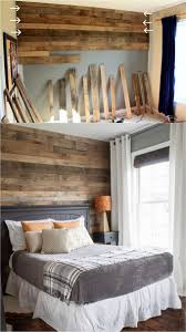 diy pallet wall this gorgeous bedroom accent wall is made with pallet boards learn the great tips here on how to stagger the pallet wood joints
