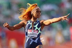 Banned 100-meter runner Sha'Carri ...
