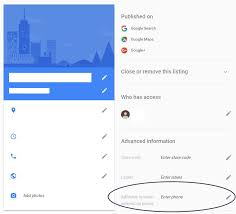 Google Phone Listing Adwords Location Extension Phone Numbers In Google My Business