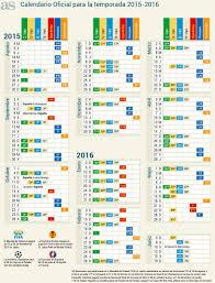 Calendario 2015 Argentina Calendario Oficial De La Temporada 2015 2016 As Com