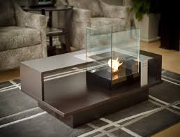 fire bowl indoor firepit table tabletop fireplace