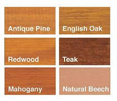 Ronseal Varnish Colour Chart Sadolin Interior Stain English Oak 0 75 L