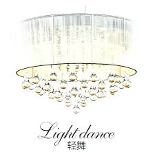 chandelier fabric shades crystal chandelier des white fabric led morn k crystal cm arms e bronze chandelier with fabric shades