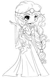 Coloring Pages To Print At Free Printable Cute Chibi Disney
