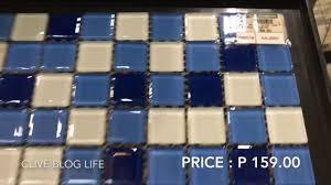 Wilcon Tiles Design Wall Tiles 30 X 30 Mosaic Robinsons Builder