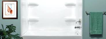 x bathtub surround a 54 30 lyons elitetm 59 white wall