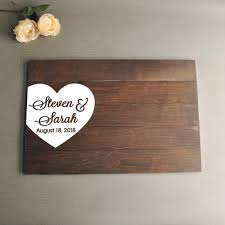 Sign Book For Wedding 2019 Wedding Guestbook Sign Guestbook Alternative Wedding Guest Book Wooden Wedding Signs Wedding Gifts Amp Mementos Wood Guest Book From
