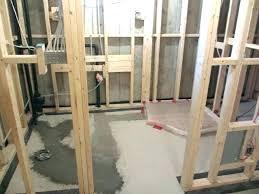 how to plumb a basement bathroom ud