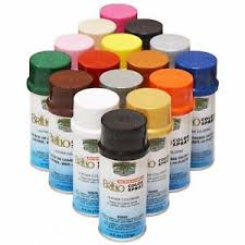 Image is loading BRILLO-Color-Spray-Leather-Vinyl-Paint-Dye-4-