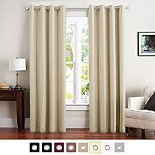 living room panel curtains. vangao room darkening thermal insulated blackout curtains solid grommet top window draperies/drapes/panels living panel