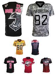 Design Your Own Football Uniform For Fun Custom Flag Football Team Jerseys Shorts Made In The Usa