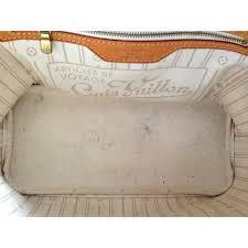 louis vuitton neverfull white. louis vuitton neverfull shopping bag - photo a88675-f white