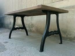 vintage industrial style oak dining