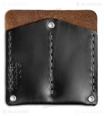 scout leather co pocket protector black cxl leather