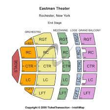 Eastman Kodak Theater Seating Chart Eastman Theatre Tickets In Rochester New York Eastman