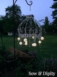 solar light chandelier diy captivating outdoor chandelier outdoor chandelier crystal chandeliers at home depot