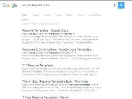 Google Free Resume Templates Impressive Resume Template For Google Docs New Free Resume Templates Google
