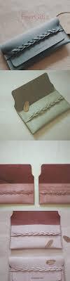 Best 25 Handmade Leather Wallet Ideas On Pinterest Leather