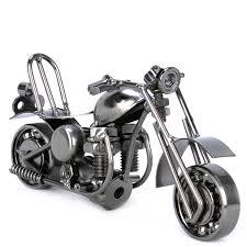 nuts bolts metal motorbike ornament