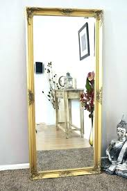 big gold mirror large full antique length mirrors extra decorative wall floor round