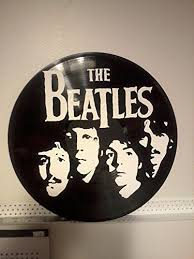 wall art hand painted vinyl record the beatles on wall art using vinyl records with amazon wall art hand painted vinyl record the beatles handmade