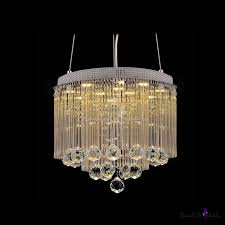 clear crystal glass rods shade pendant light hanging glistening crystal spheres beautifulhalo com