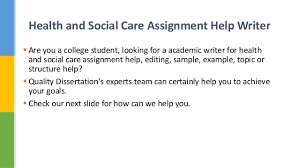 health and social care assignment essay help