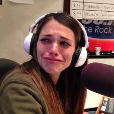 """Dudley & Bob + Matt on Twitter: """"Here is Carissa's cry face from ..."""
