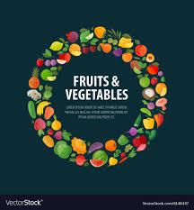 Fruit And Vegetable Logo Design Fruits And Vegetables Logo Design Template