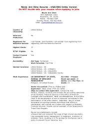 Resume Bilder Usa Jobs Resume Builder Example
